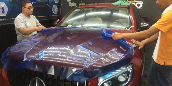 chống trầy xước cho xe ô tô
