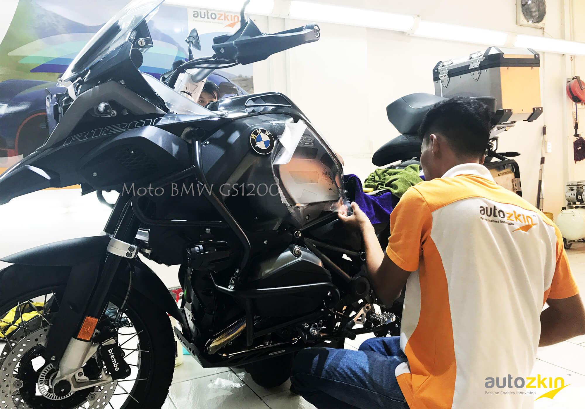 Moto BMW GS1200
