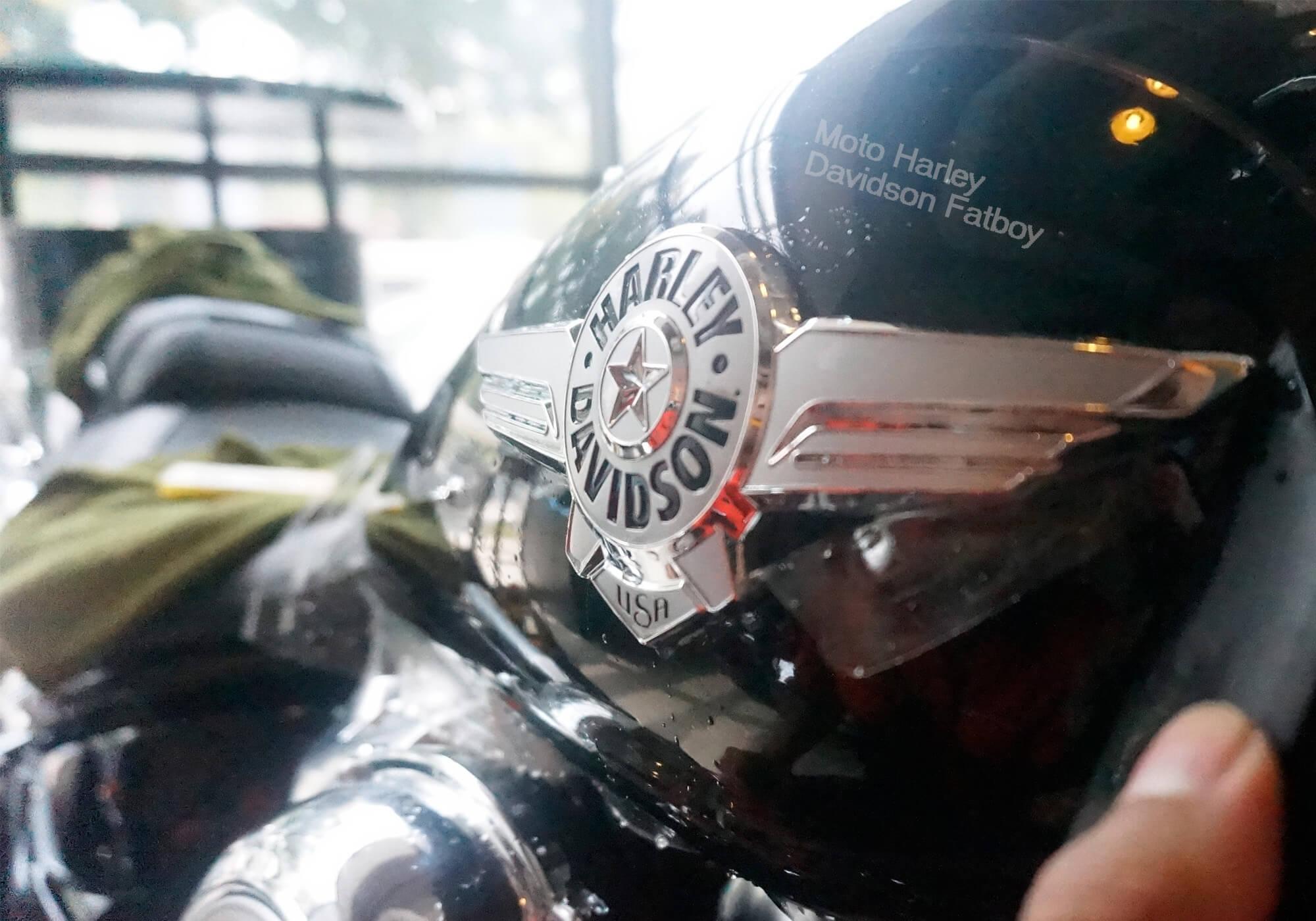 Moto Harley Davidson Fatboy