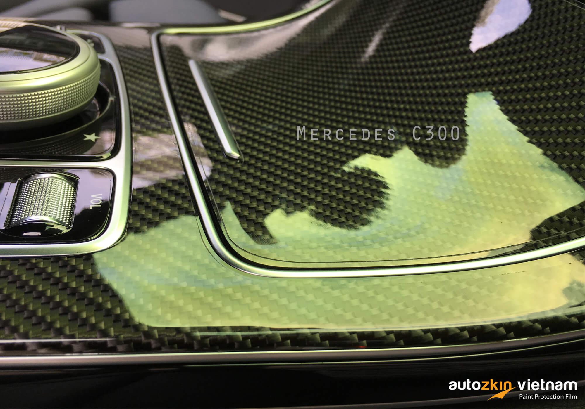 Nội thất Mercedes C300